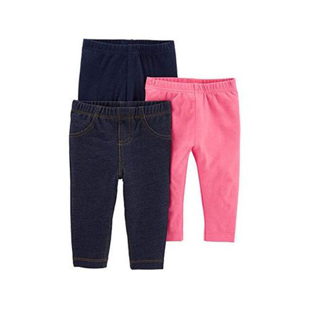 Picture of Simple Joys by Carter's Baby and Toddler Girls' 3-Pack Leggings